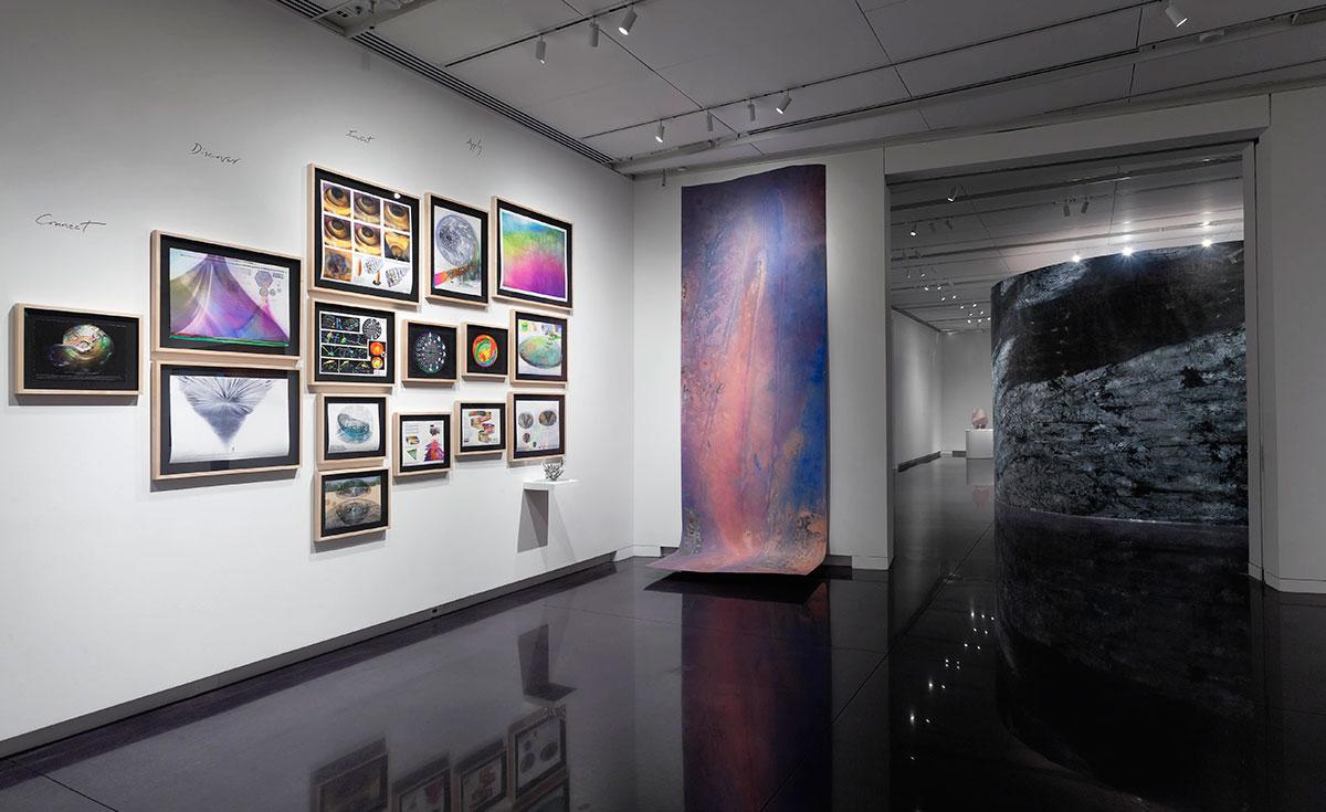 ArtNano Innovations at the CU Art Museum (Photo Jeffrey Wells)