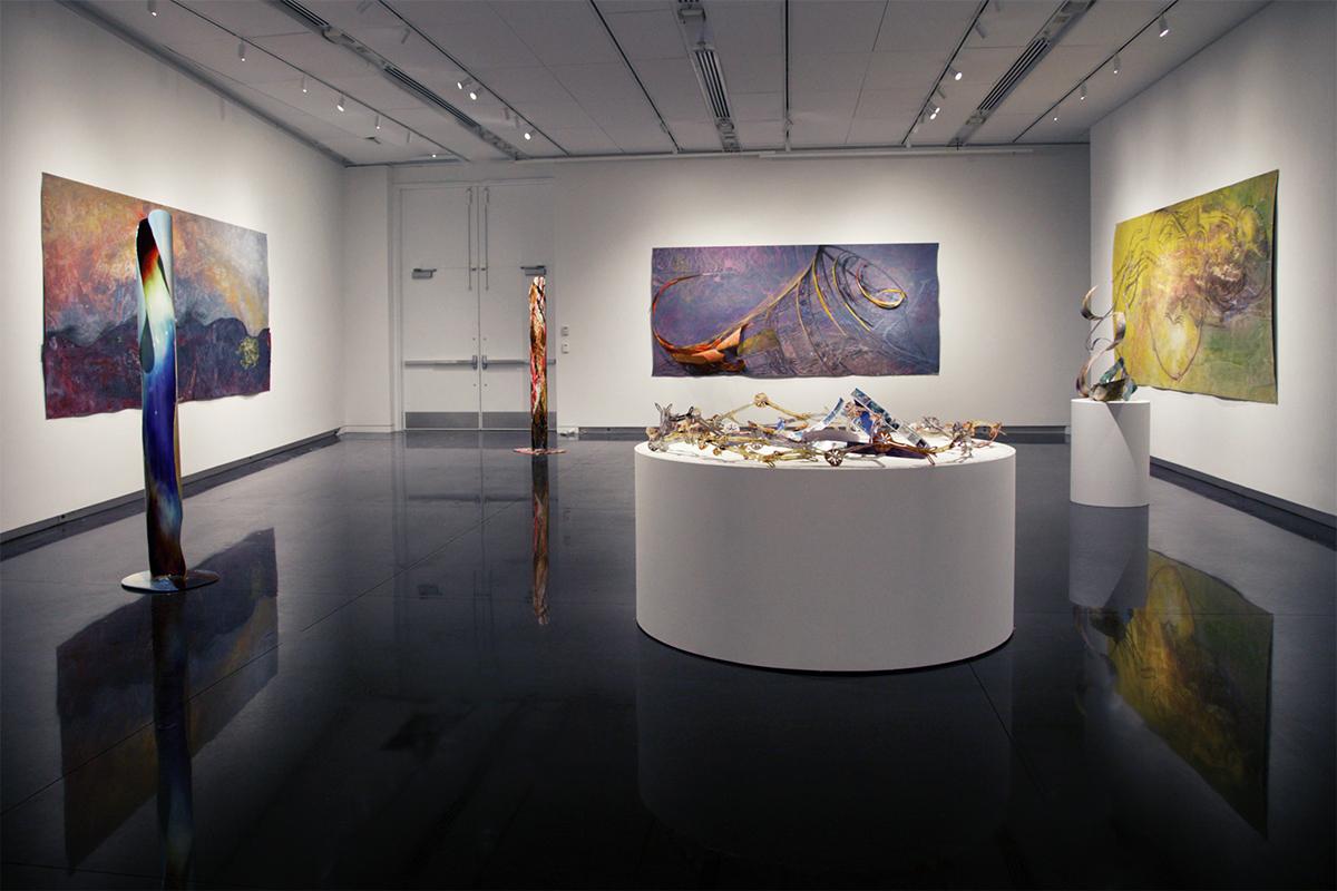 ArtNano Innovations at the CU Art Museum (Photo Lael Siler)