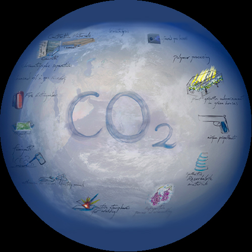 Global Carbon Dioxide Cooling
